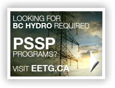 BC Hydro PSSP programs